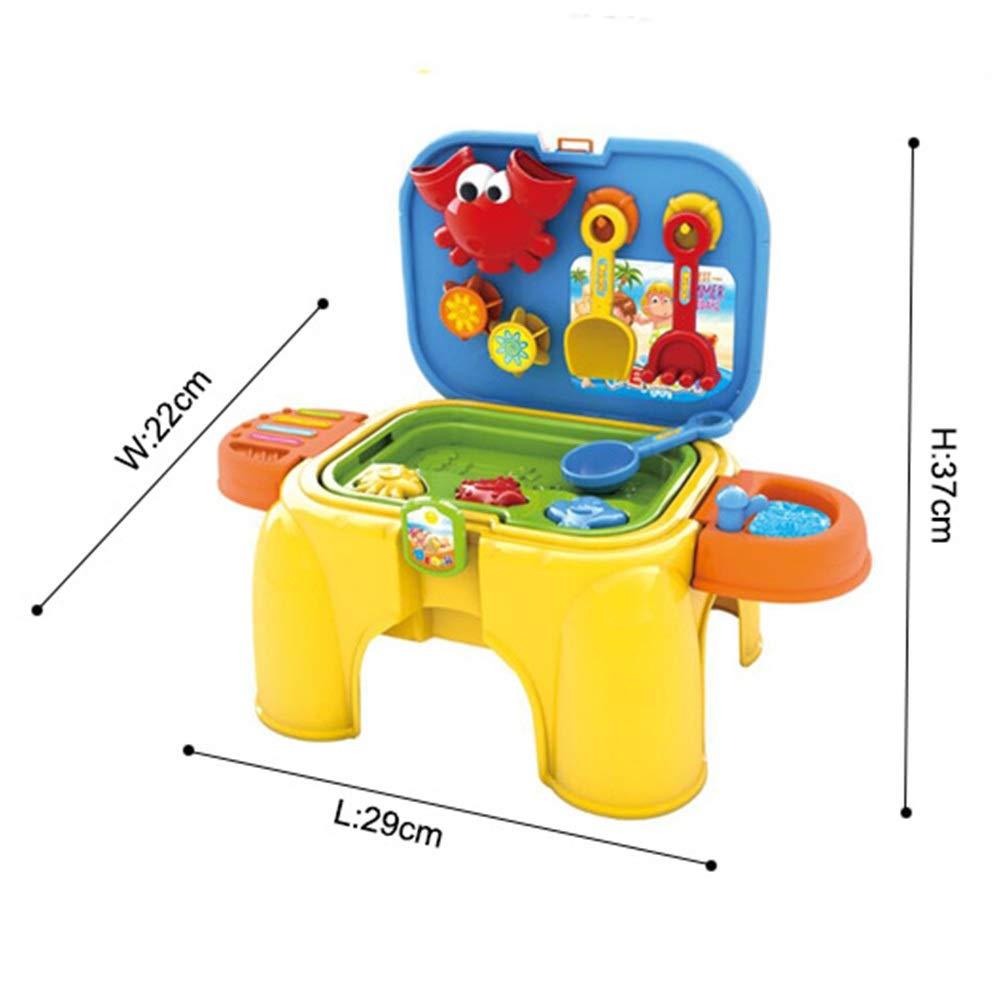 Silla plegable Diseño para niños Aprendizaje temprano Arena y agua ...