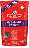 Stella & Chewy's Freeze-Dried Raw Absolutely Rabbit Dinner Patties Dog Food, 15 oz bag