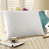 Adjustable Shredded Memory Foam Pillow Hypoallergenic and Dust Mite Resistant Pillows 20 x 26 - Stand Size By AOHAYO