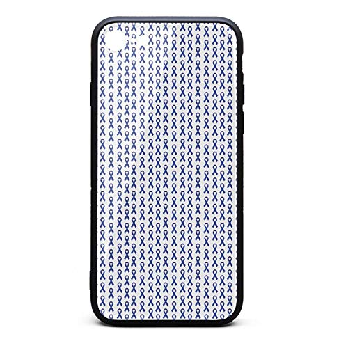National Colon Cancer Awareness Month Vector Logo Pattern Blue I-Phone 7/8 Case Phone Shell Shockproof Fashion for I-Phone 7/8