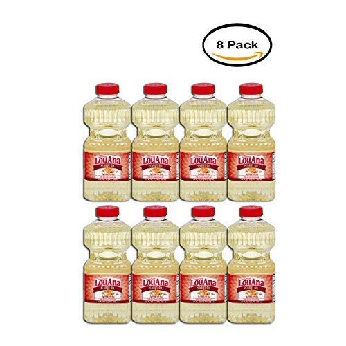 Louana Peanut (PACK OF 8 - LouAna Peanut Oil, 24.0 FL OZ)