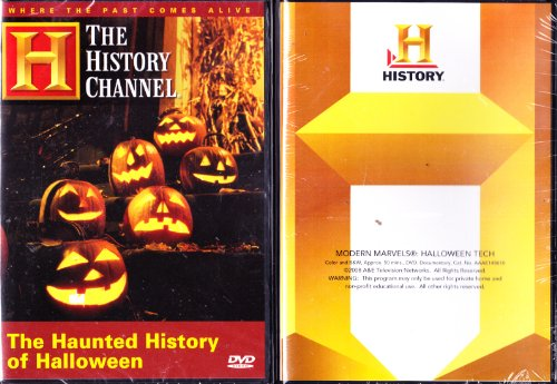 The History Channel Modern Marvels : Halloween Tech , The Haunted History Of Halloween - 2 Pack Collectors Set -
