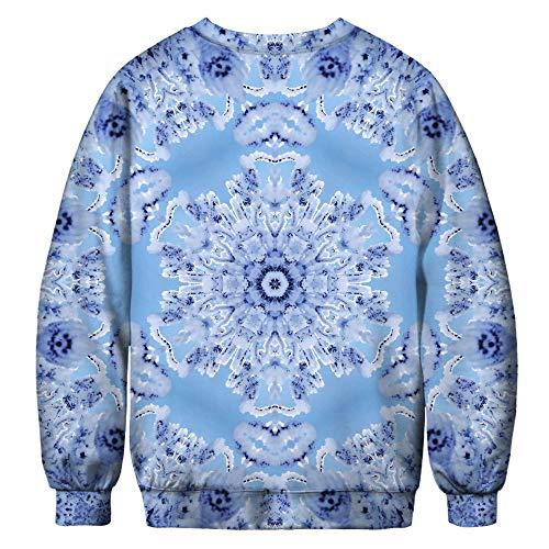 Amoma Amoma shirt Sweat Sweat Snowflake Femme P0f1HqxCw