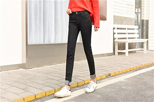 Jeans Donna Jeans Jeans Icegrey N9002 schwarz Icegrey Donna N9002 schwarz Icegrey Sw1Fnx1B4