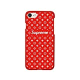 Haute High Fashion iPhone 6/6s PLUS Case - Hardshell Slim/Thin Fit Matte Finish (Red Lv)