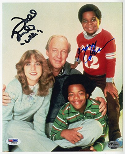 - GARY COLEMAN + TODD BRIDGES SIGNED DIFF'RENT STROKES CAST PHOTO BAIN & PLATO PSA