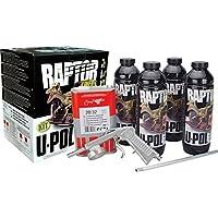 U-Pol Raptor TINTABLE Urethane Spray-On Truck Bed Liner Kit w/ GUN UPOL 821