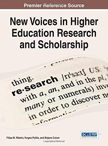 New Voices in Higher Education Research and Scholarship (Advances in Higher Education and Professional Development) by Filipa M. Ribeiro (2014-11-30) Hardcover