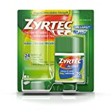 #4: Zyrtec Prescription-Strength Allergy Medicine Tablets With Cetirizine, 70 Count, 10 mg