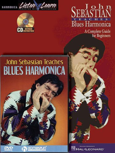 John Sebastian - Harmonica Bundle Pack: John Sebastian Teaches Blues Harmonica (Book/CD) with John Sebastian Teaches Blues Harmonica (DVD) (Harmonica Listen & Learn)
