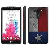 Texas Flag - Mobiflare LG G Vista VS880 Slim Guard Armor Black Phone Case