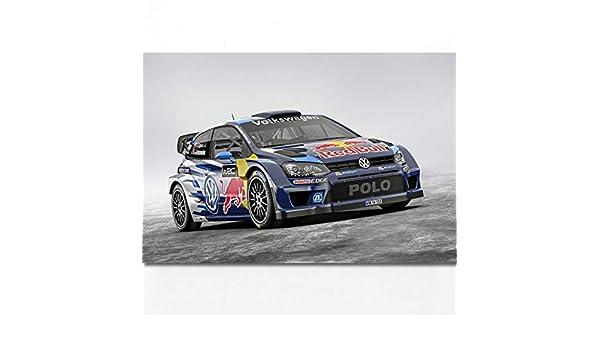 QAZEDC Pintura Decorativa Sport Car Polo R WRC Typ R Race Racing ...