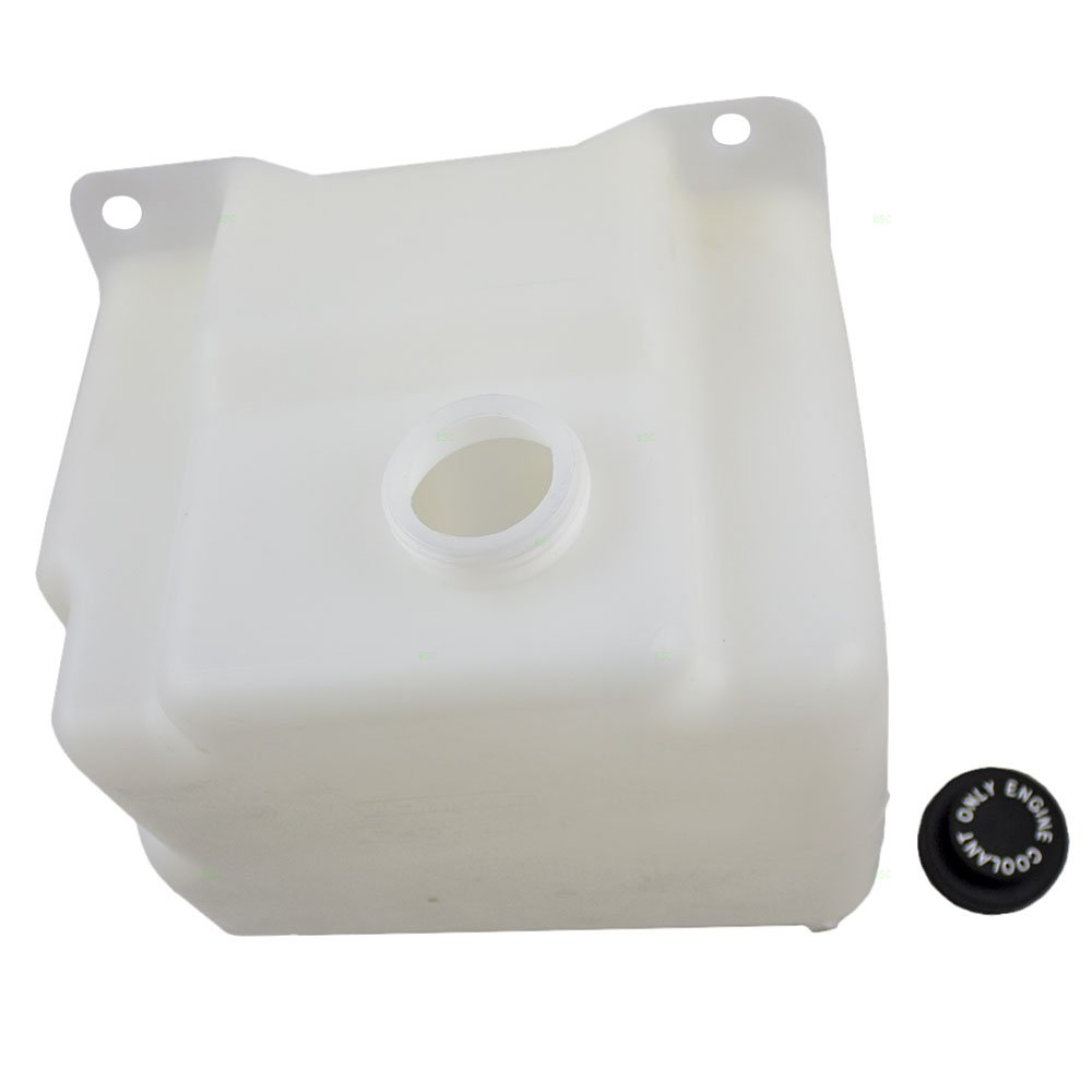 Coolant Overflow Tank Recovery Bottle Expansion Reservoir Replacement for 88-02 GM Old Body Style Pickup Truck SUV 15650373