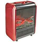 COMFORT ZONE CZFP1 Mini Electric Fireplace PET2