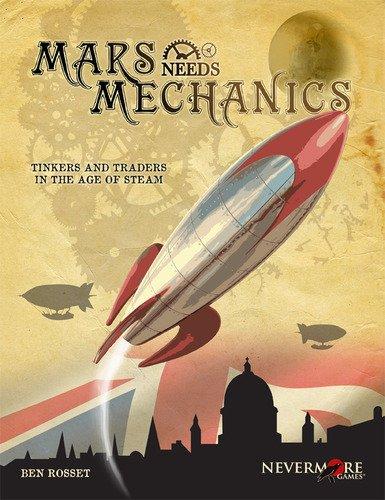 Mars Needs Mechanics Board Game Flat River Group MNM0