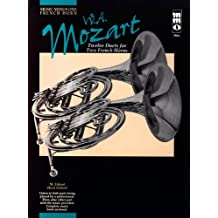 Mozart - Twelve Duets for Two French Horns (Music Minus One (Numbered))