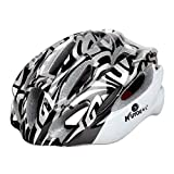 Outdoor & Sports,Dartphew 1Pcs Fashion Ultralight Bicycle Helmet - Bike Cycling Helmets 57-61 with Light Size, 21 wind hole design - Well-ventilated for Camping Hunting Cycling(Adjustable) (Black)