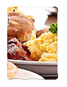 Case Provided For Ipad 2/3/4 Protector Case Food Phone Cover With Appearance