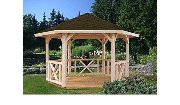 Cenador Sorbus S13 natural – 120 x 120 mm de grosor, superficie de 9,90 m², techo para tienda de campaña: Amazon.es: Bricolaje y herramientas