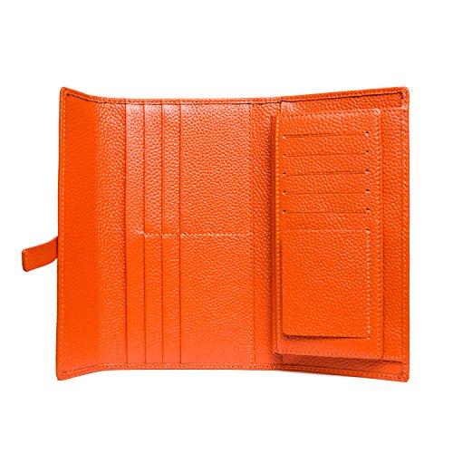 Pink Women's Purses Long Genuine Leather Handbags Wallets Jonon Clutch ag48dnw8q
