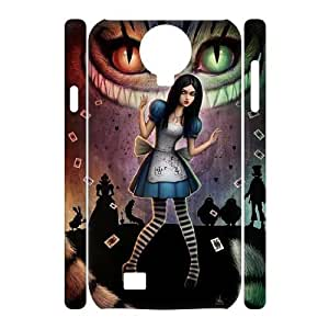 Customized 3D SamSung Galaxy S4 I9500 Case, Alice In Wonderland quote Cheap Phone Case