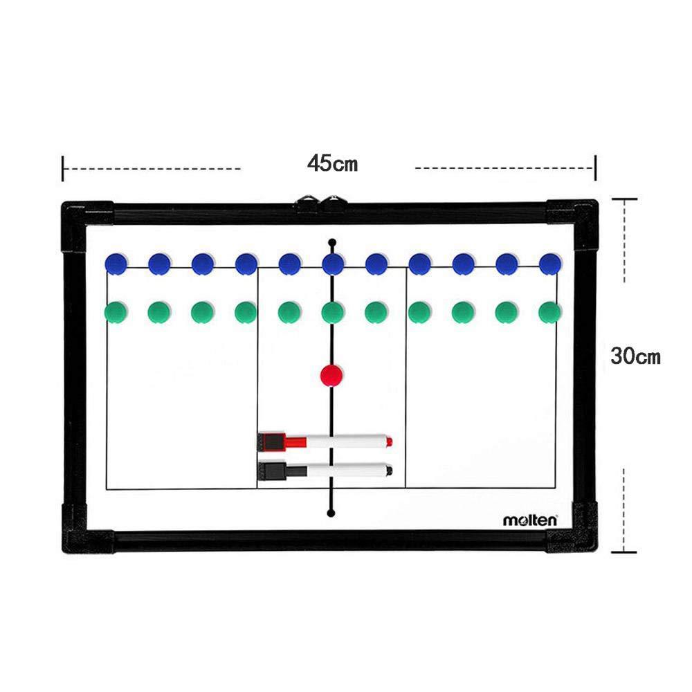 BEYONDTIME Alliage Daluminium Volleyball Conseil De Formation De Joueur De Conseil De Tactique Magn/étique R/éinscriptible