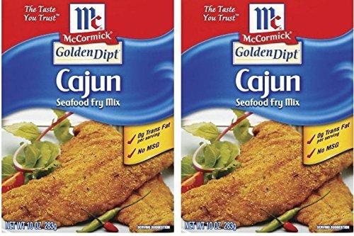 Golden Dipt Mix Fry Fish Cajun Style (Cajun Fish)