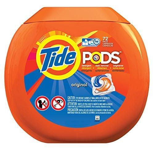 Tide Pods Tub Laundry Detergent Pacs, Original, 72 Count by Tide
