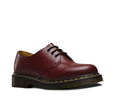 dce8267186c3 Dr. Martens Unisex 1461 Oxford,Cherry Red,4 F(M) UK