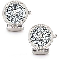 Tateossian Men's Big Ben Mechanical Watch Cufflinks