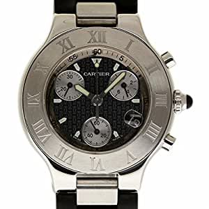 Cartier Must 21 swiss-quartz mens Watch W10125U2 (Certified Pre-owned)
