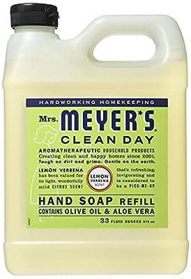 Mrs. Meyers Liquid Hand Soap Refill Lemon Verbena