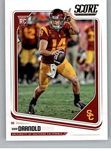 2018 Score #349 Sam Darnold USC Trojans Rookie RC Football Card (Usc Trojans Memorabilia)