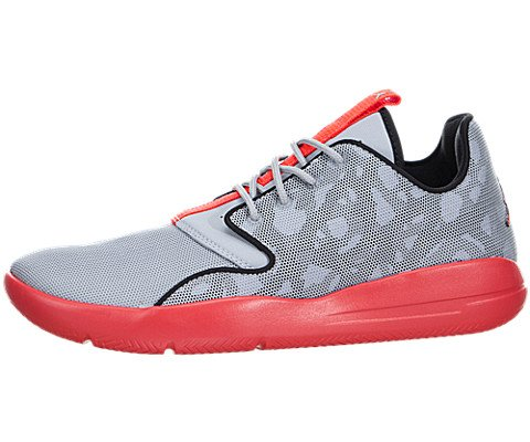 Nike Jordan Kids Jordan Eclipse BG Wolf Grey/Infrrd 23/Blk/Cl Gry Running Shoe 5 Kids US - Kid Eclipse Boy Shoe