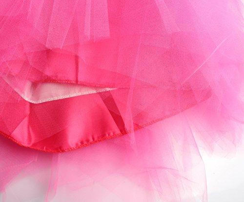 Plisse 80s Ballet Gauze Adulte Pettiskirt Courte 80s White Tutu Rockabilly ResPai Robe Crinolina Danse Accessory 50s Neon Skirt Tutu Costume Organza Tulle lastique Prop Jupe Dress Femme Fancy Jupons 6vwnR