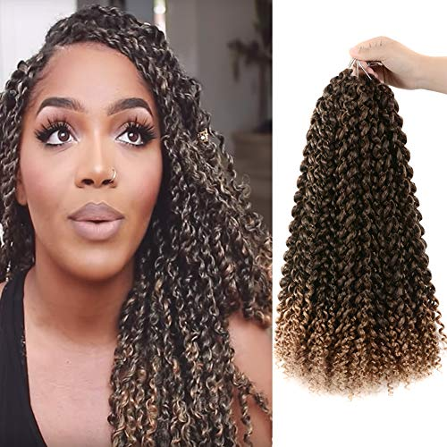 6pcs Passion Twist Hair 18 Inch Long Bohemian Braids For Passion