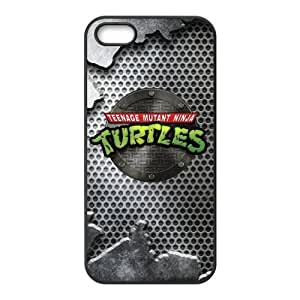 LeonardCustom Protective Hard Rubber Coated Cover Case for iPhone 5 / 5S , TMNT Teenage Mutant Ninja Turtles -LCI5U159 by ruishername