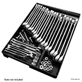 Tool Sorter Wrench Organizer - Black