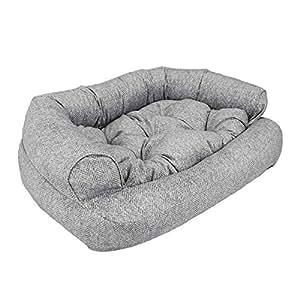 Amazon.com: Snoozer - Sofá de microfibra para mascotas, L ...