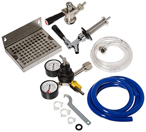 Kegco Deluxe Door Mount Kegerator Keg Tap Conversion Kit EBDCK-NT