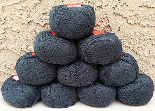 gering Weight Yarn 100% Wool 500 Grams 10 Skeins (Civil War Basic 409) ()