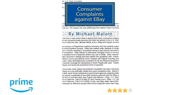 Consumer Complaints Against Ebay The Best Of Over A Million