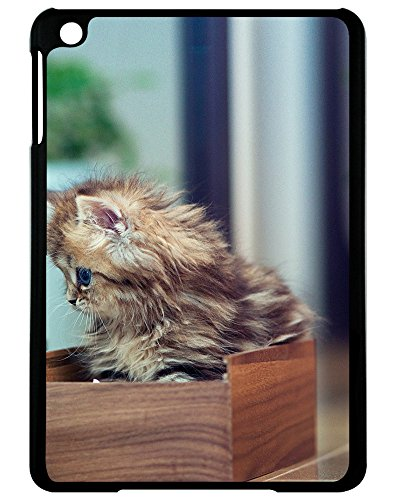 HARLAN Design kitten casket flowers Cover Hard Plastic Case With Excellent Style For iPad Mini 4 (7.9inch)