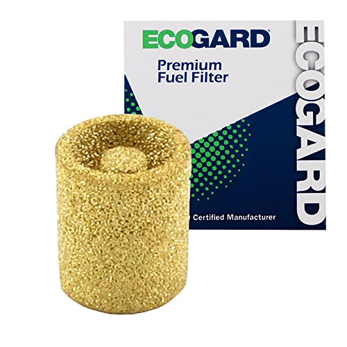 ECOGARD XF10021 Engine Fuel Filter - Premium Replacement Fits Ford F-250, F-350, Mustang, F-150, E-350 Econoline, E-350 Econoline Club Wagon, Escort, E-150 Econoline, E-250 Econoline Club Wagon, LTD
