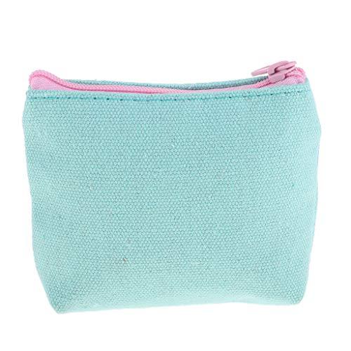 Women Girls Cute Flamingo Coin Purse Wallet Clutch Handbag Zip Cosmetic Bag (Color - 02)