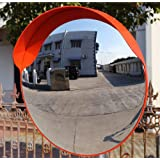 60CM Breakage-proof Indoor/outdoor Convex Safety Mirror Wall Mount/Pole Mount Traffic Security Shop Driveway Blind Spot Hidden