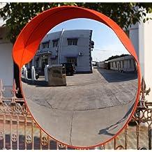 60CM Breakage-proof Indoor/outdoor Convex Safety Mirror Wall Mount/Pole Mount Traffic Security Shop Driveway Blind Spot Hidden
