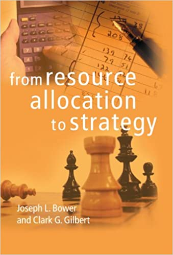 From Resource Allocation to Strategy: 9780199277452: Economics Books