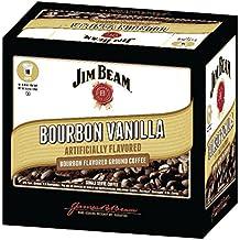 Jim Beam Bourbon Vanilla Single Serve Coffee, 18 cups, Keurig 2.0 Compatible