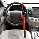 CARTMAN Anti-Theft Steering Wheel Lock, Red